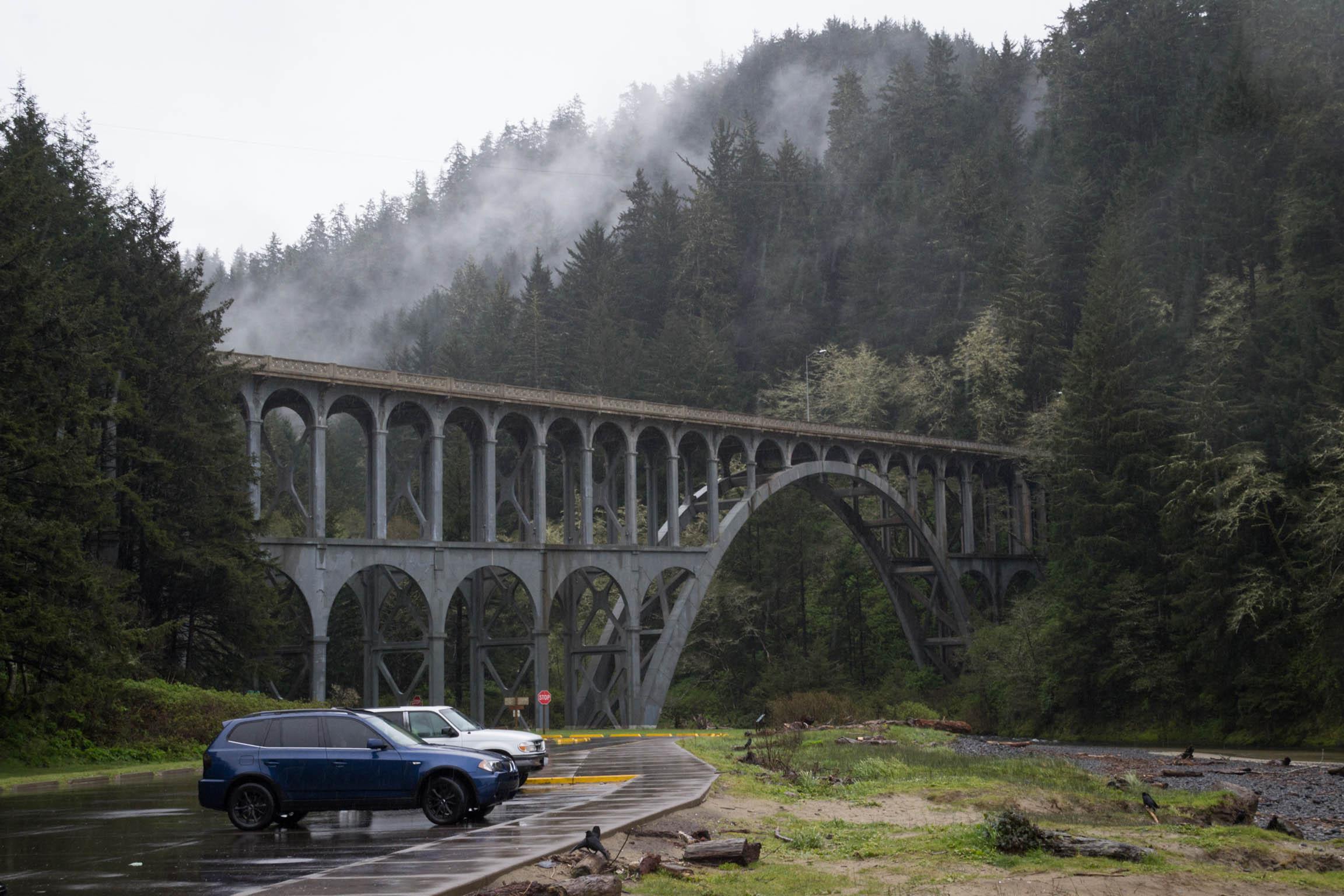 Les ponts de la région sont particuliers et du même style