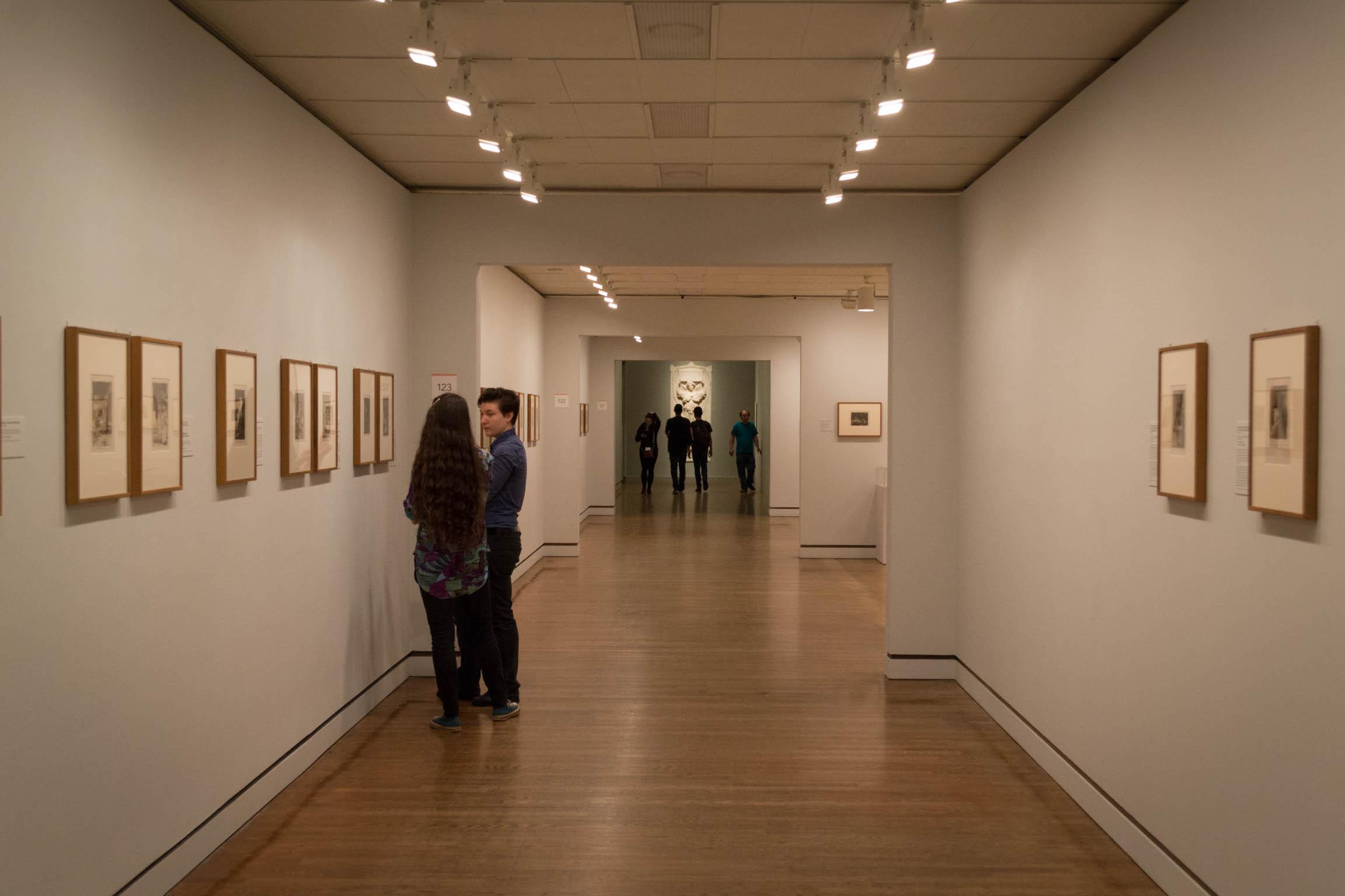 A l'intérieur du musée d'art de Philadelphie