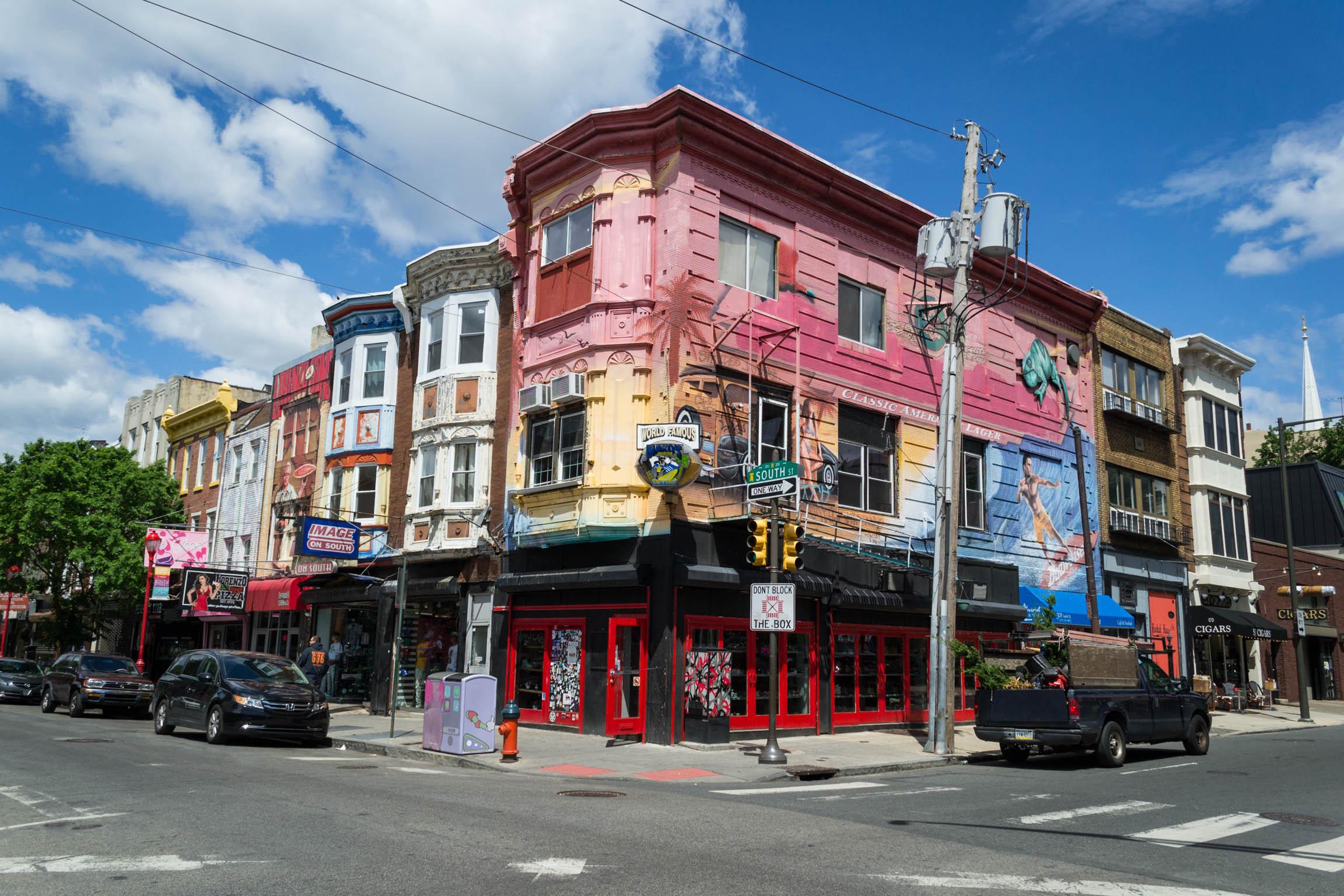 South Street regorge de maisons aux facades hallucinantes