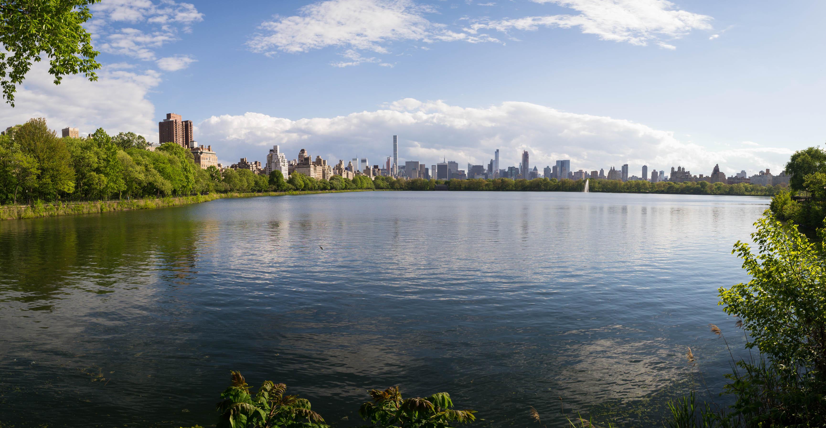 Le Reservoir à Central Park