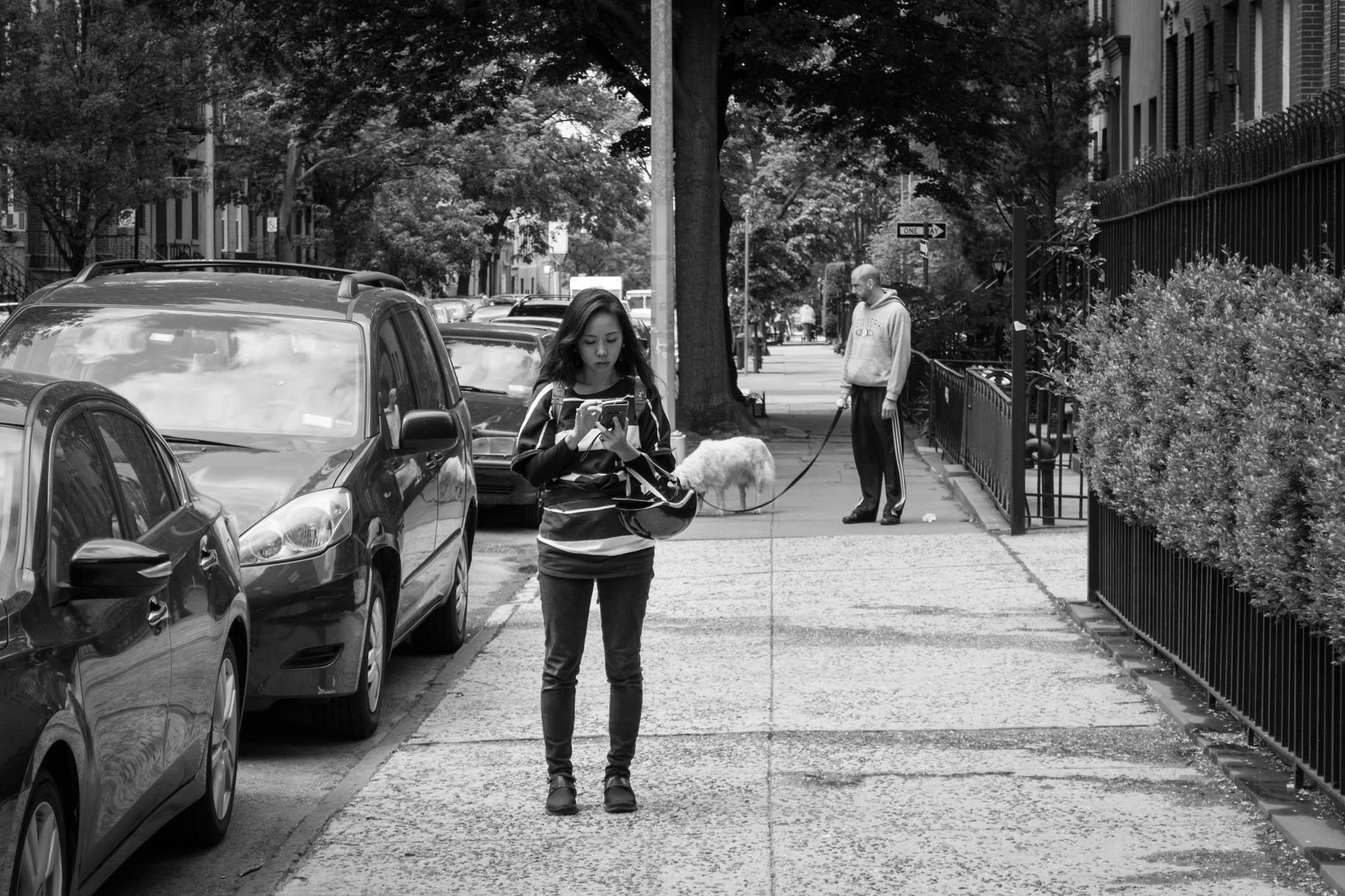 Une scène de vie à Brooklyn
