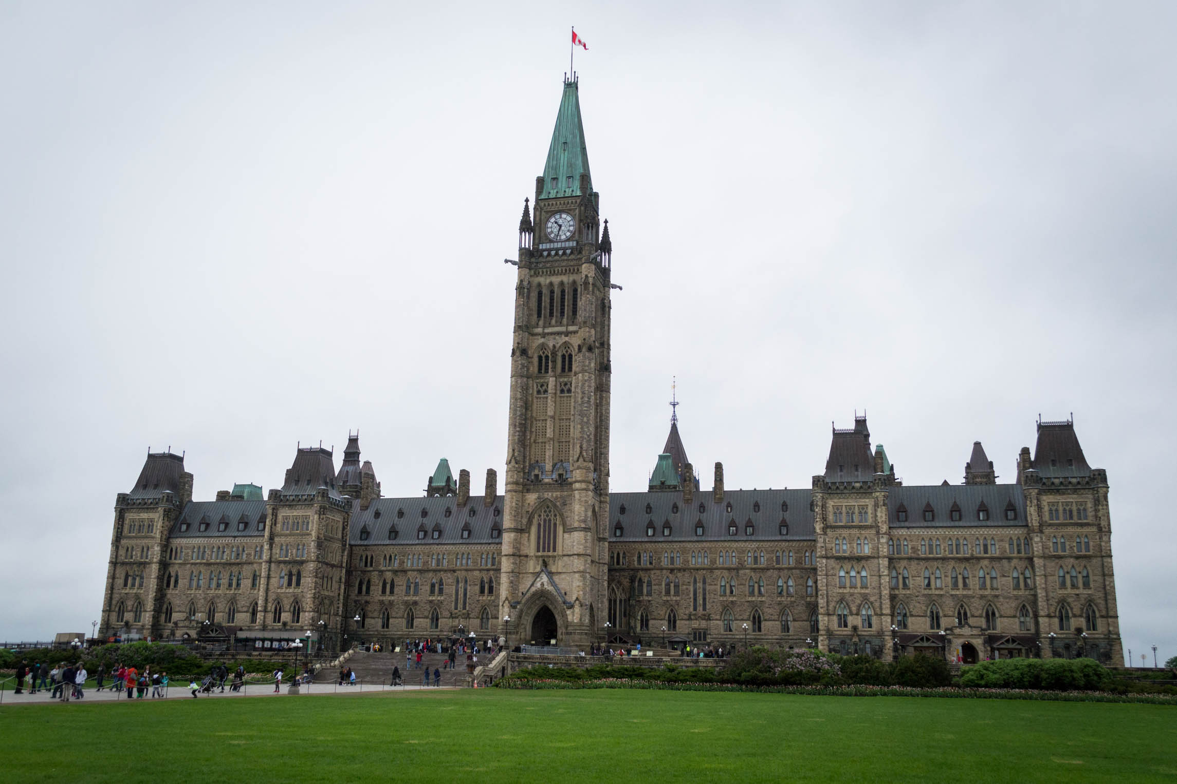 La Parlement Canadien de l'extérieur