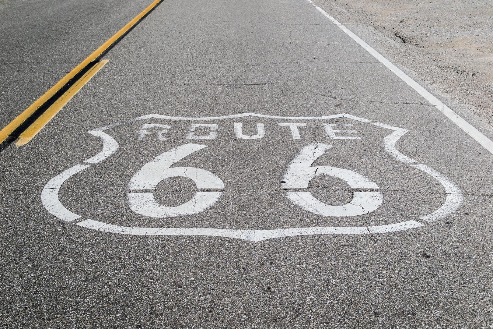 La mythique Route 66 ! Difficile de passer à côté