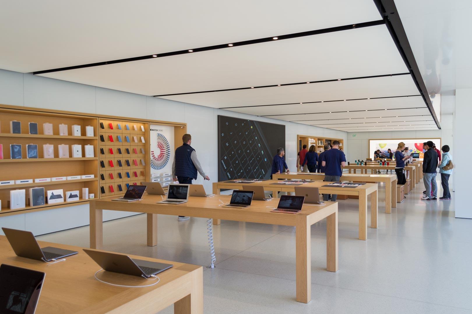 L'Apple Store d'Infinite Loop