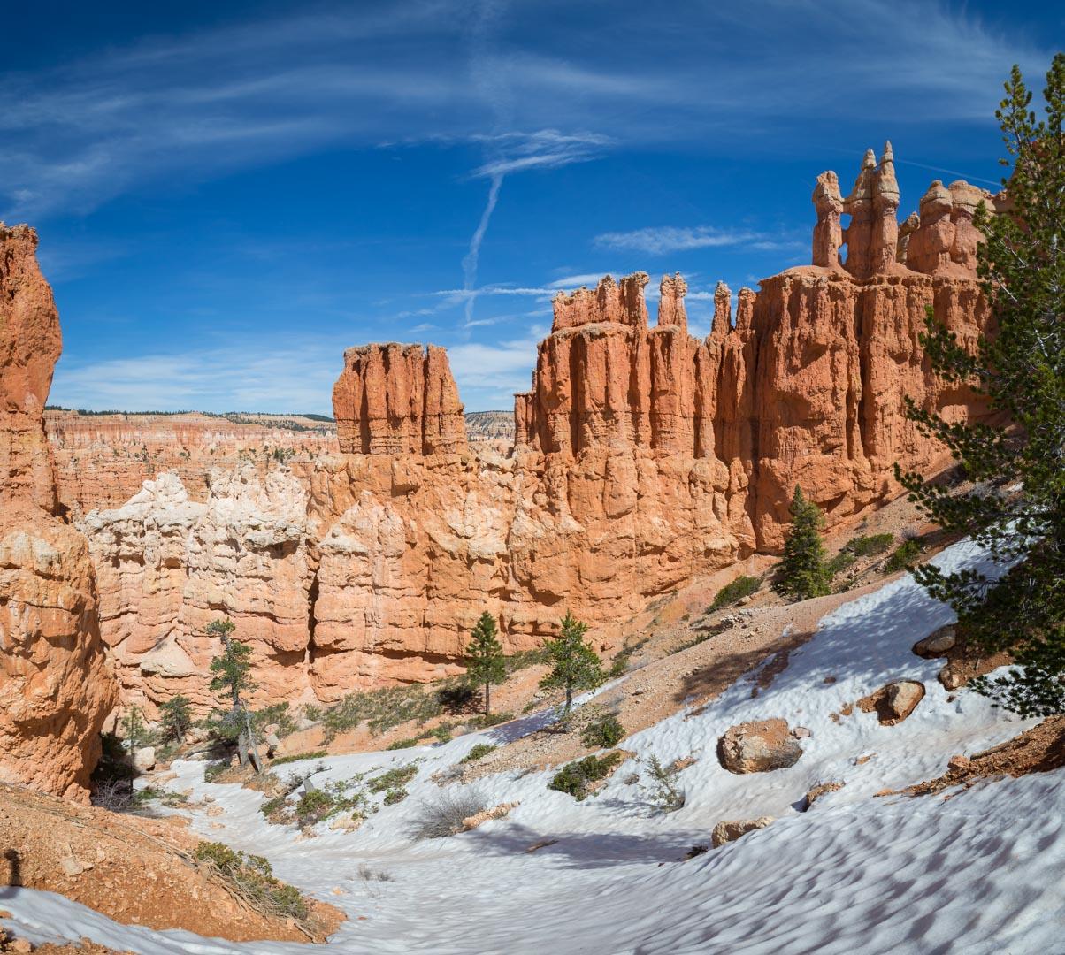 Les concrétions caractéristiques du Bryce Canyon