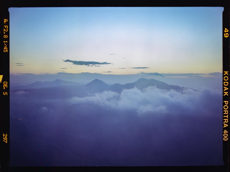 Un lever de Soleil depuis le Mont d'Or