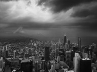 Du haut de la Willis Tower