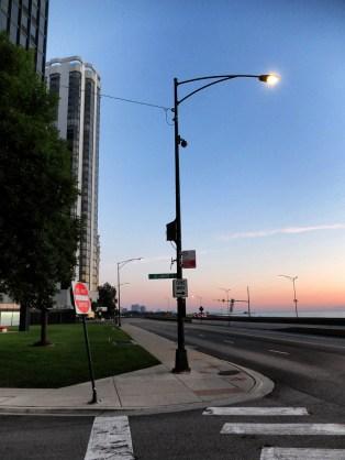 Lake Shore Drive au petit matin