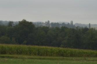 Village brume