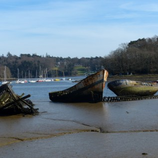 Le cimetière de bateaux de Kerhervy (1)