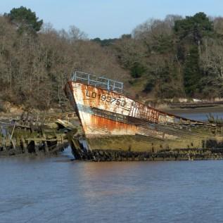 Le cimetière de bateaux de Kerhervy (11)
