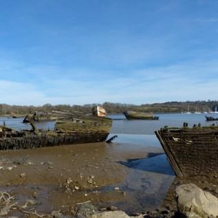 Le cimetière de bateaux de Kerhervy (6)