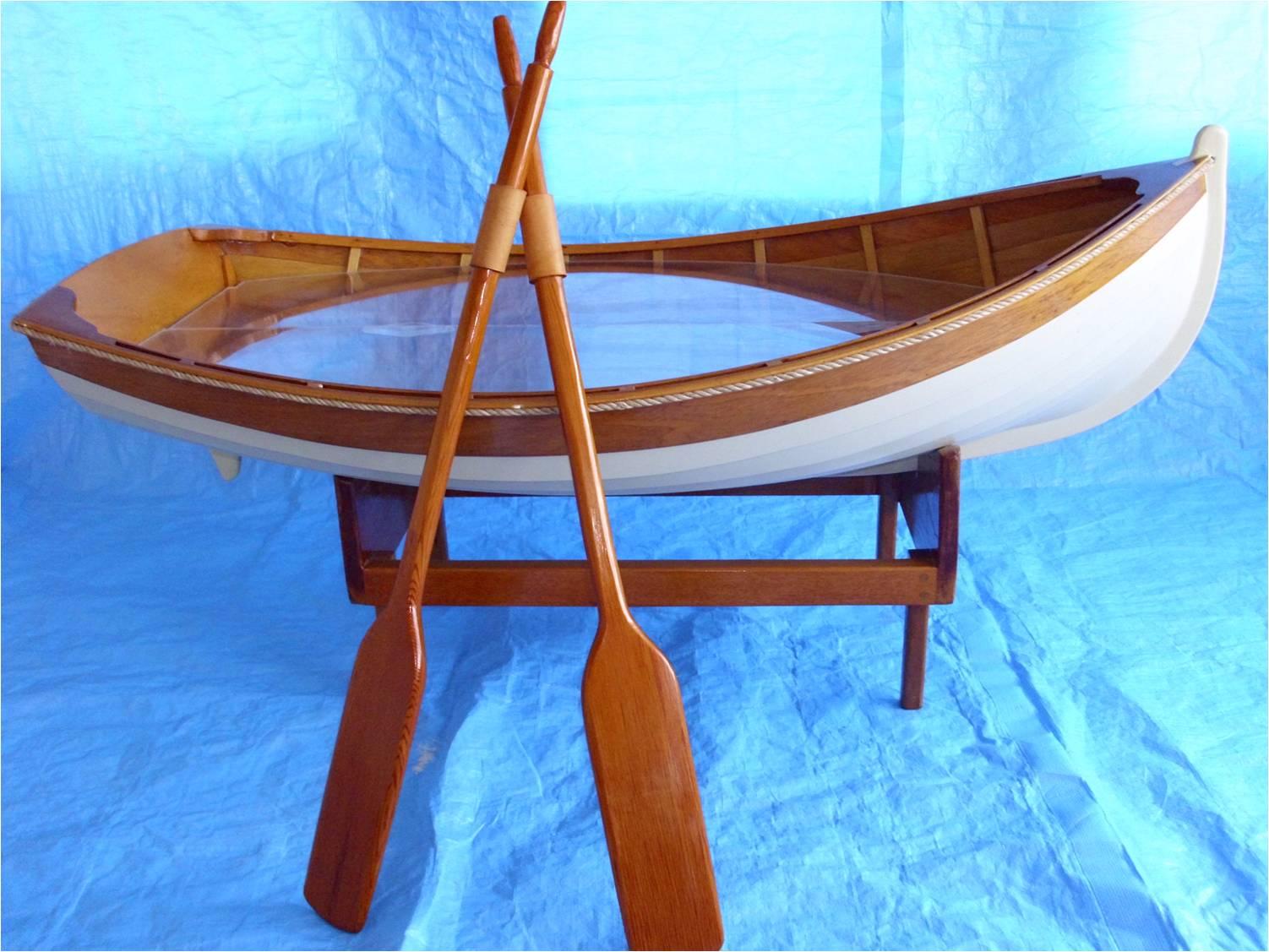 used captain chairs for boats bean bag at walmart large mahogany wood boat martin nautical antiques