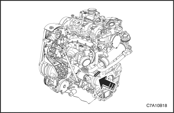 Chevrolet Captiva 2013 Engine Oil Filter Location