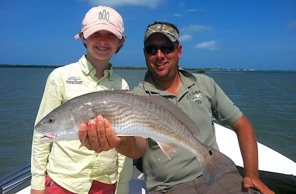 Redfish, Catch & Release, Sanibel Fishing & Captiva Fishing, Sanibel Island, Wednesday, November 14, 2018.