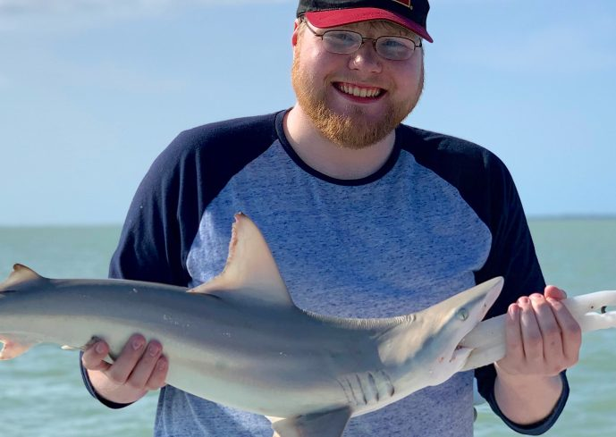 Blacktip Shark, Sanibel Island Fishing, Catch & Release, Captiva Island, Wednesday, April 17, 2019.