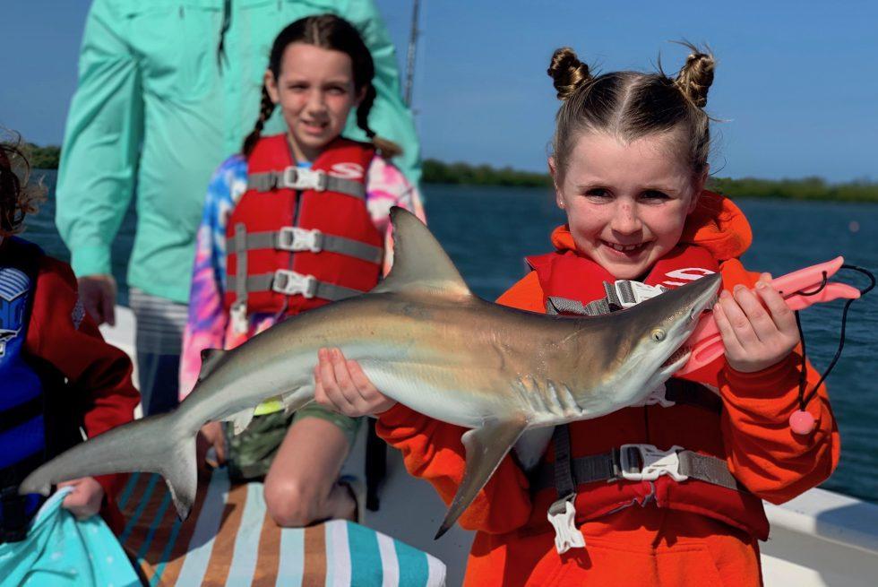 Blacktip Shark, Sanibel Island Fishing, Catch & Release, Captiva Island, Wednesday, April 3, 2019.