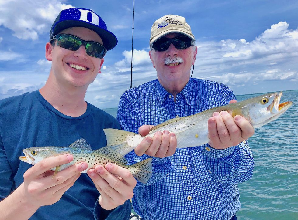 SeaTrout, Sanibel Island Fishing, Catch & Release, Captiva Island, Tuesday, June 11, 2019.