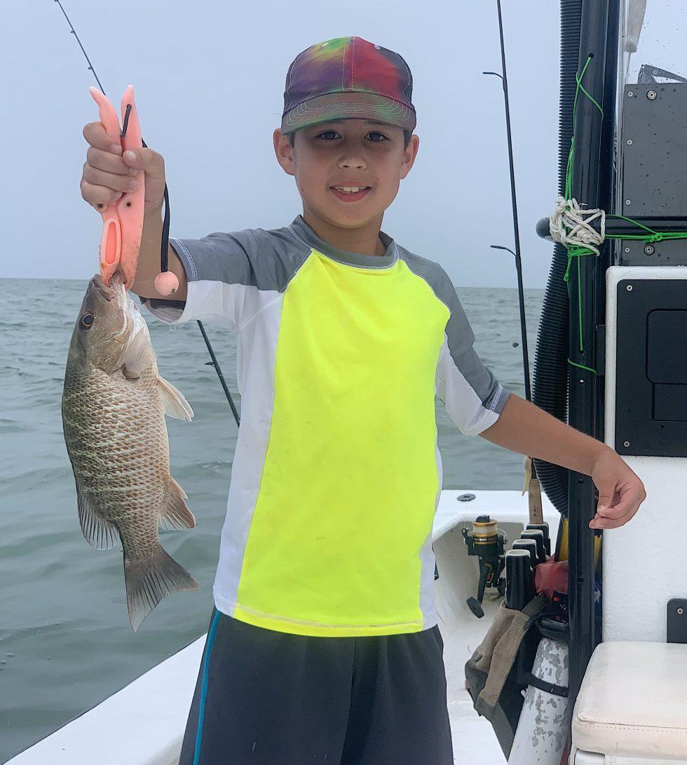 Snapper, Sanibel Island Fishing, Catch & Release, Captiva Island, Monday, July 8, 2019.