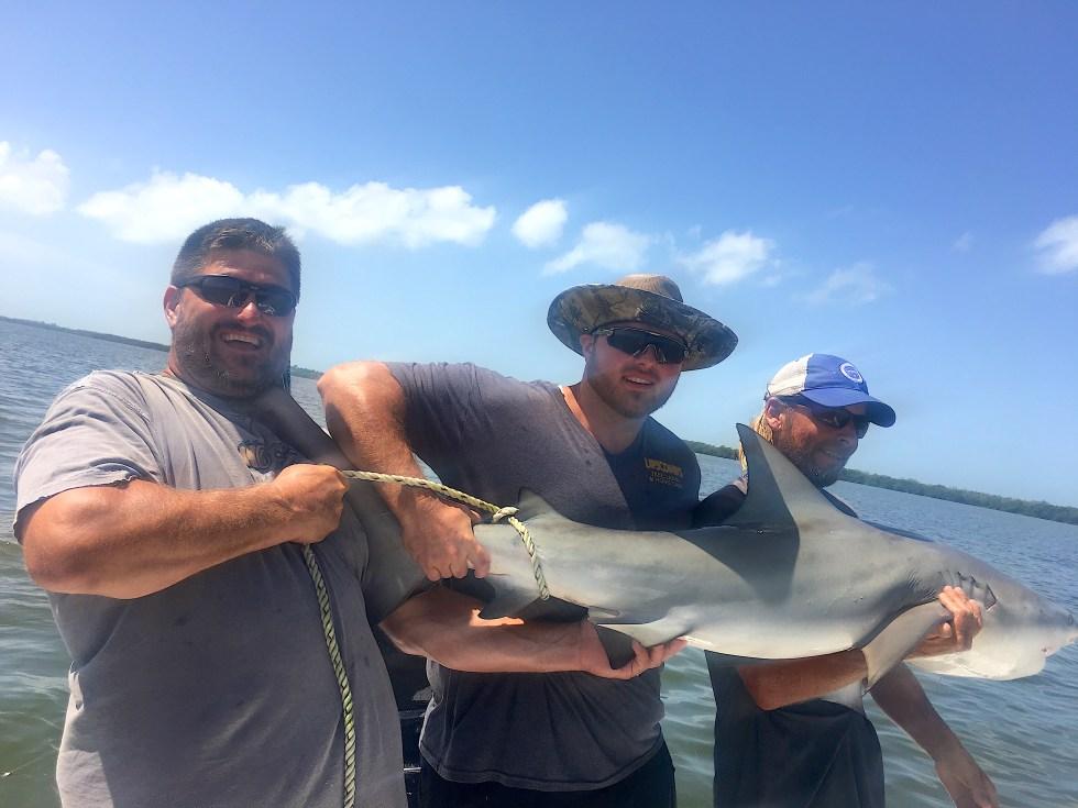 Bull Shark, Sanibel Island Fishing, Catch & Release, Captiva Island, Tuesday, September 10, 2019.
