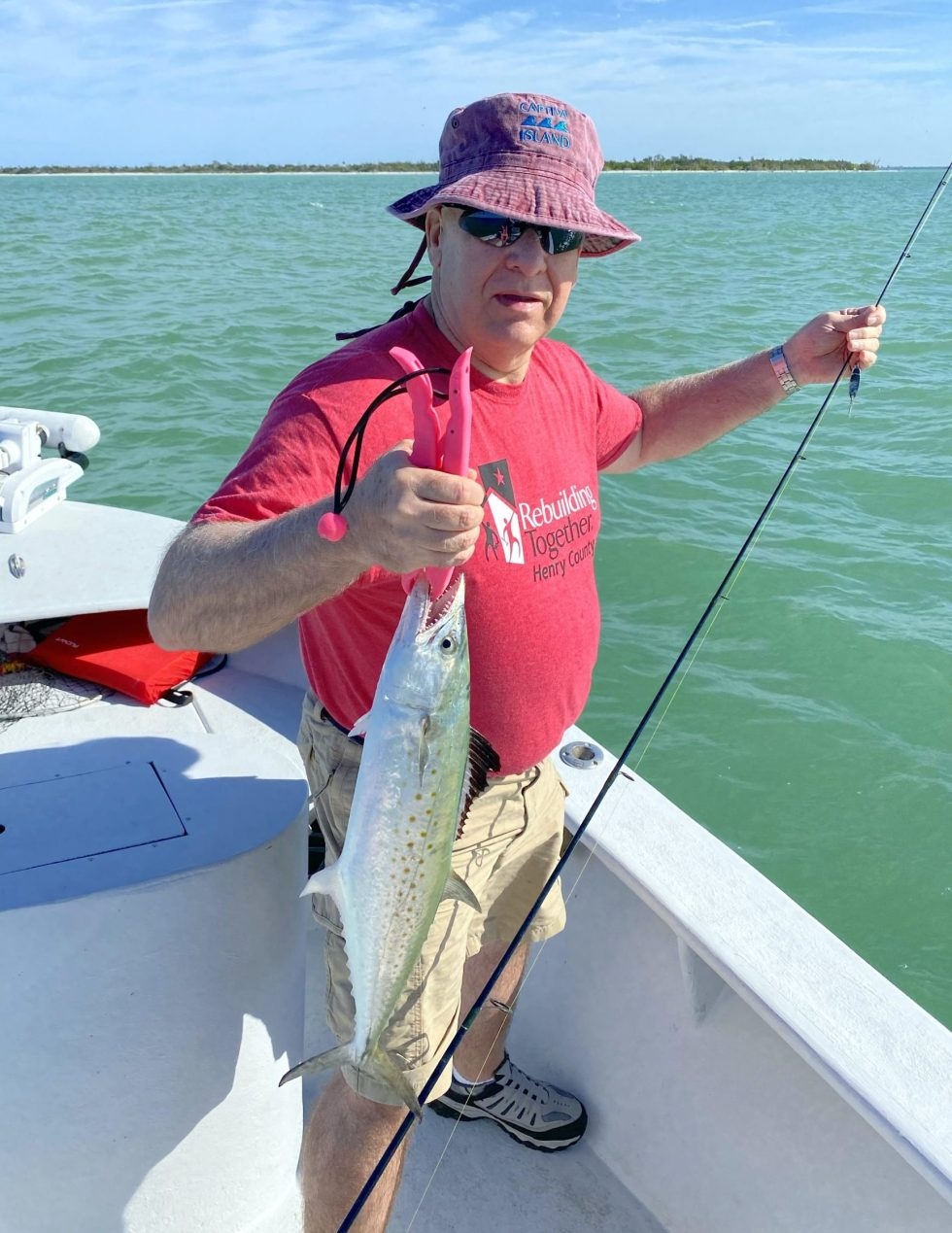 Spanish Mackerel, Sanibel Island Fishing, Catch & Release, Captiva Island, Saturday, February 22, 2020.