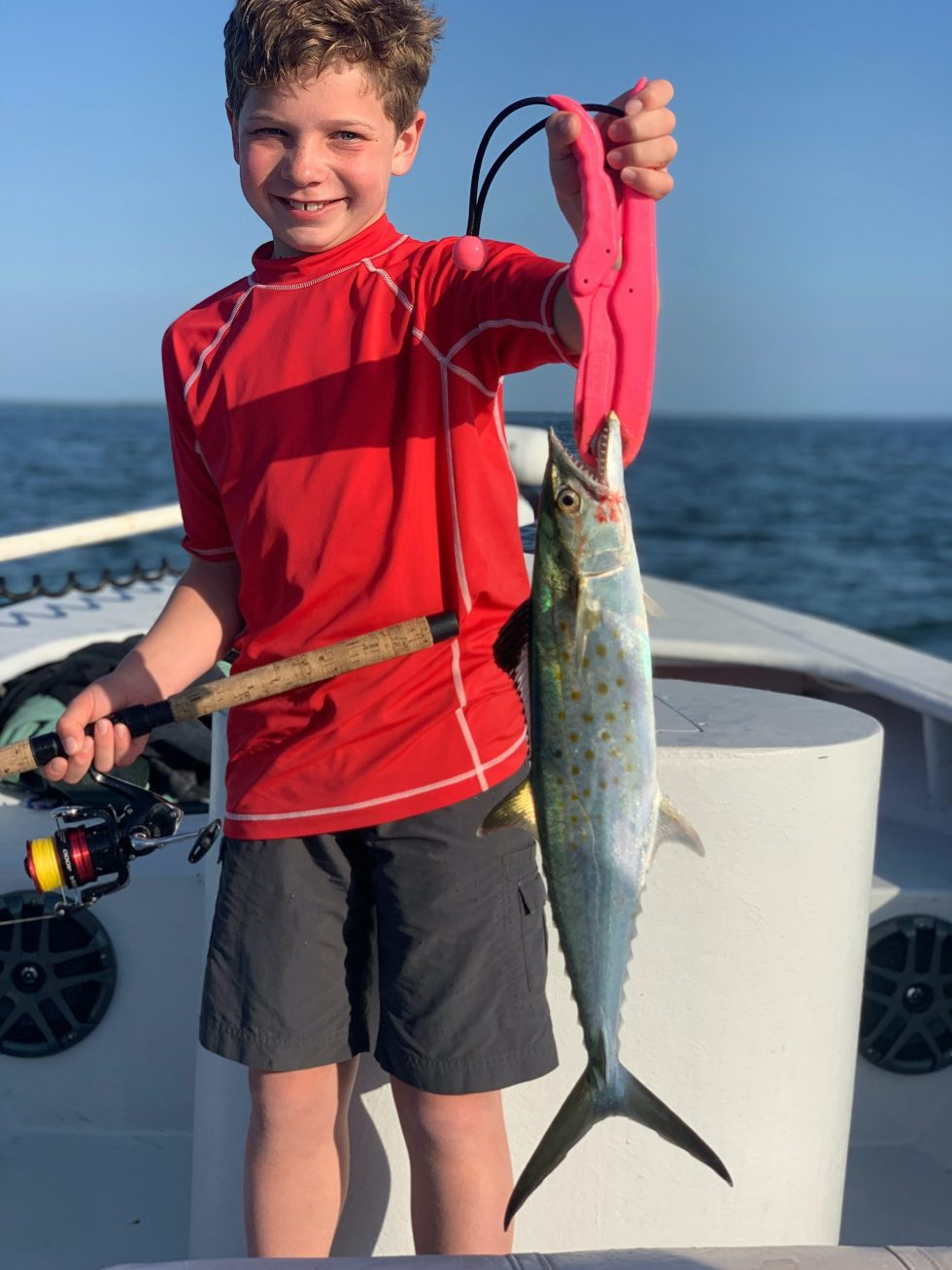 Spanish Mackerel, Sanibel Island Fishing, Catch & Release, Captiva Island, Tuesday, March 24, 2020.