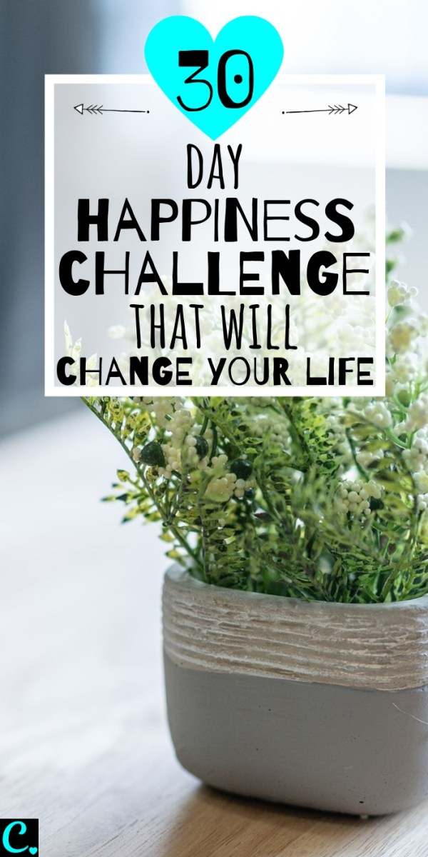 30 Day Happiness Challenge That Will Change Your Life! Complete the tasks set for each day & find our how to become happier within 30 days! #30daychallenge #howtobe #happy #happiness #howtobehappy #challenge