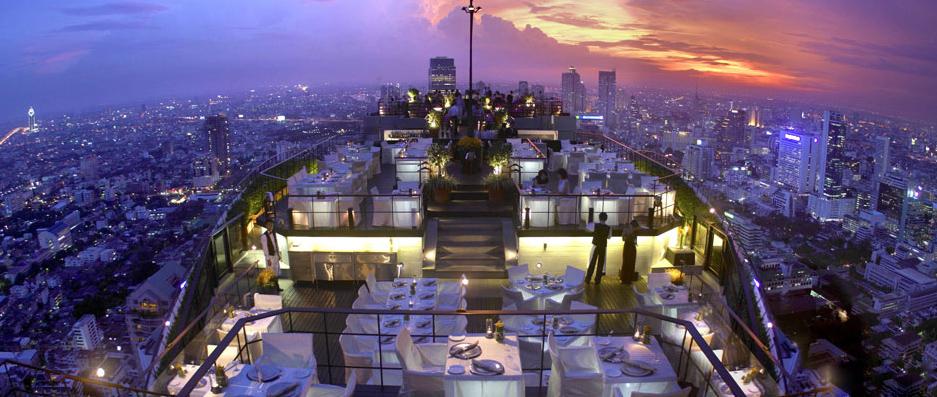 Rooftop Dining in Bangkok  Vertigo  Captivatist