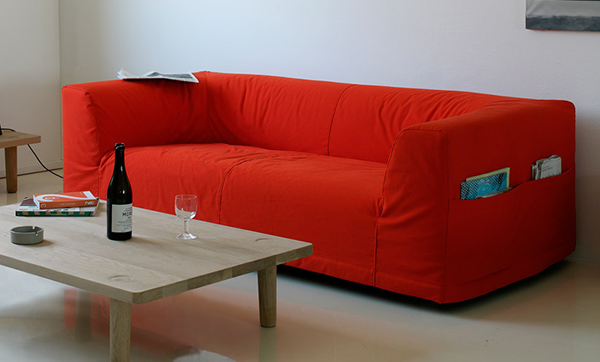 Cool Sofa Designs Camp Sofa With Pouches By Cappellini
