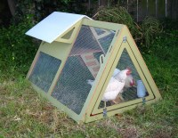 Portable Chicken Coop Kits: urban coop by Chicken Cribs ...