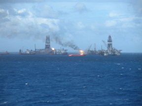 offshore helix mc 252 and intrepid 056