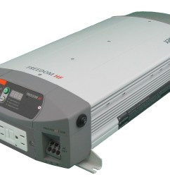 a xantrex freedom hf inverter charger is a combination of an inverter battery charger marine electrical  [ 2136 x 1456 Pixel ]