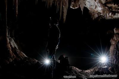 In grapevine cave