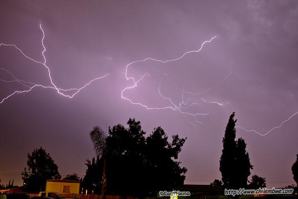 Cloud to air lightning