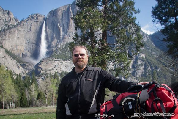 riding in Yosemite
