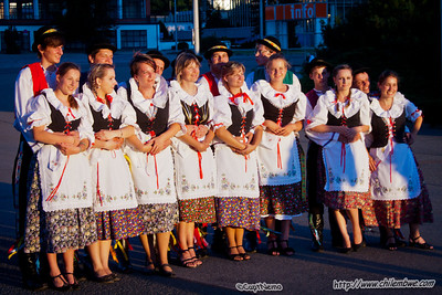 colorful traditional costumes