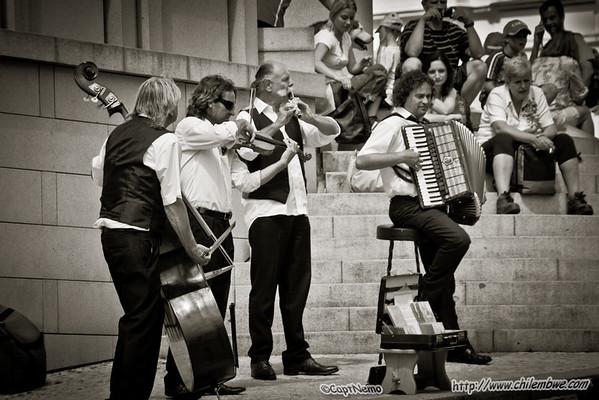 Musicians, Prague