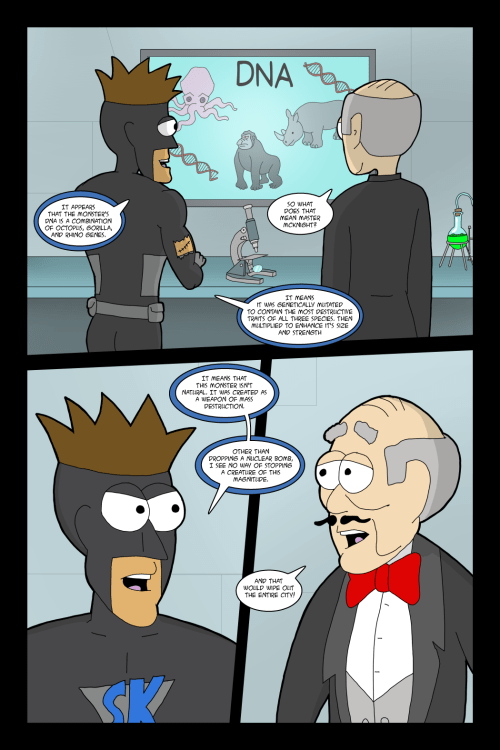Adventures with Capt'n Heroic: In the Beginning – Page 20
