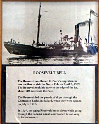 Roosevelt Ships Bell - US Coast Guard Museum - Seattle