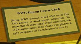 Sinuous Course Clock - US Coast Guard Museum - Seattle