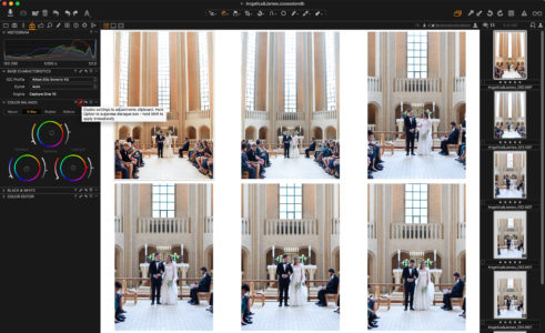 Copying Color Balance from one image