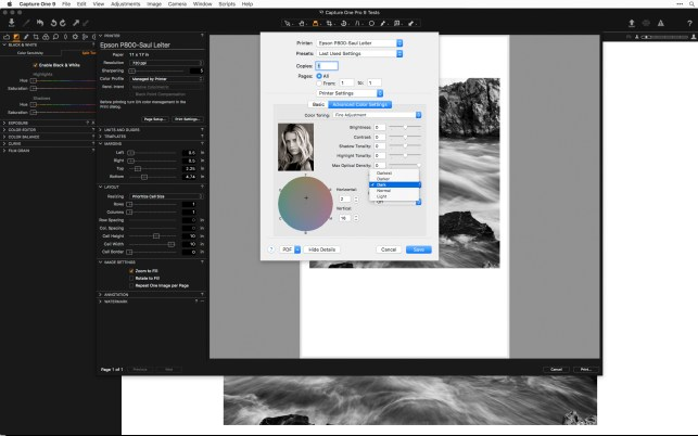 Capture One Blog » Blog Archive Print Fine Art Images directly from