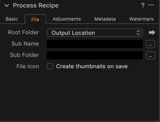Capture One Output Location