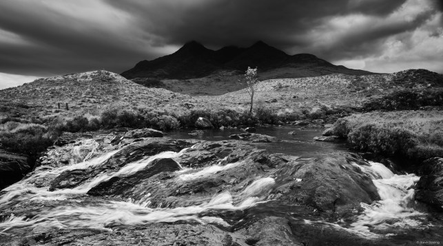 Rain Clouds Over The Cuillin, Steve Gosling with the IQ3 100MP Achromatic