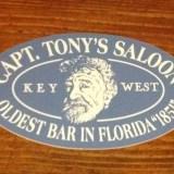 Classic Capt Tony's Sticker