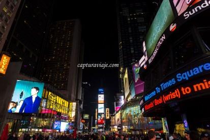 Y no es fin de año - Times Square - Manhattan - New York