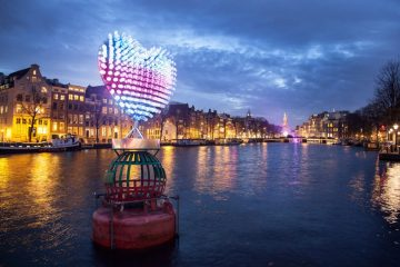 Capture Amsterdam light festival