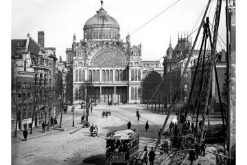 Capture Amsterdam & Stadsarchief Amsterdam - Jacob Olie - Paleis voor Volksvlijt