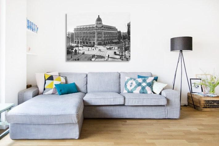 Fotograaf Jacob Merkelbach - Leidseplein Hirsch gebouw- Capture Amsterdam - Bron Stadsarchief Amsterdam