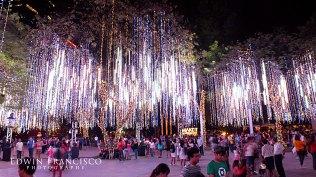 Lights in Ayala Triangle